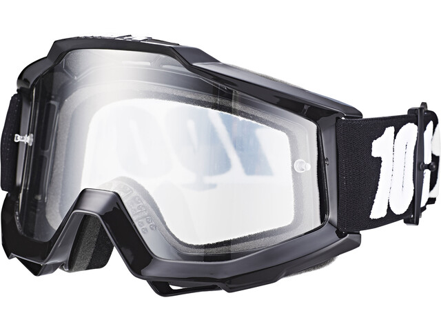 100% Accuri Anti Fog Clear Goggles tornado